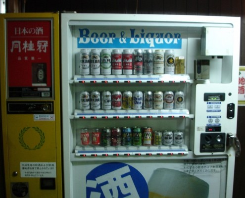 Beer and Alcohol Vending Machine