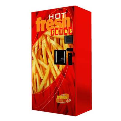 Hot French Fries Vening Machine