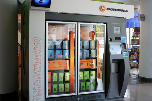 Mobile Phone Vending Machine Activend Vending Solutions